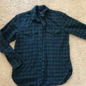 Soft, thick, plaid Madewell flannel